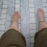 足湯は気持ちがいいがお風呂ではちょっと解放感がない -足湯ST-8000、リラックス足湯-