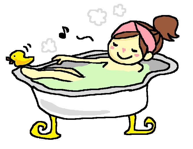 お風呂のポスターでリラックス ...