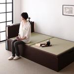 少し変わったベッド -畳のベッド-