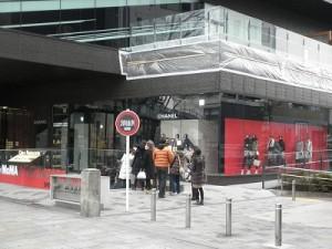 シャネルのあるビルのB1